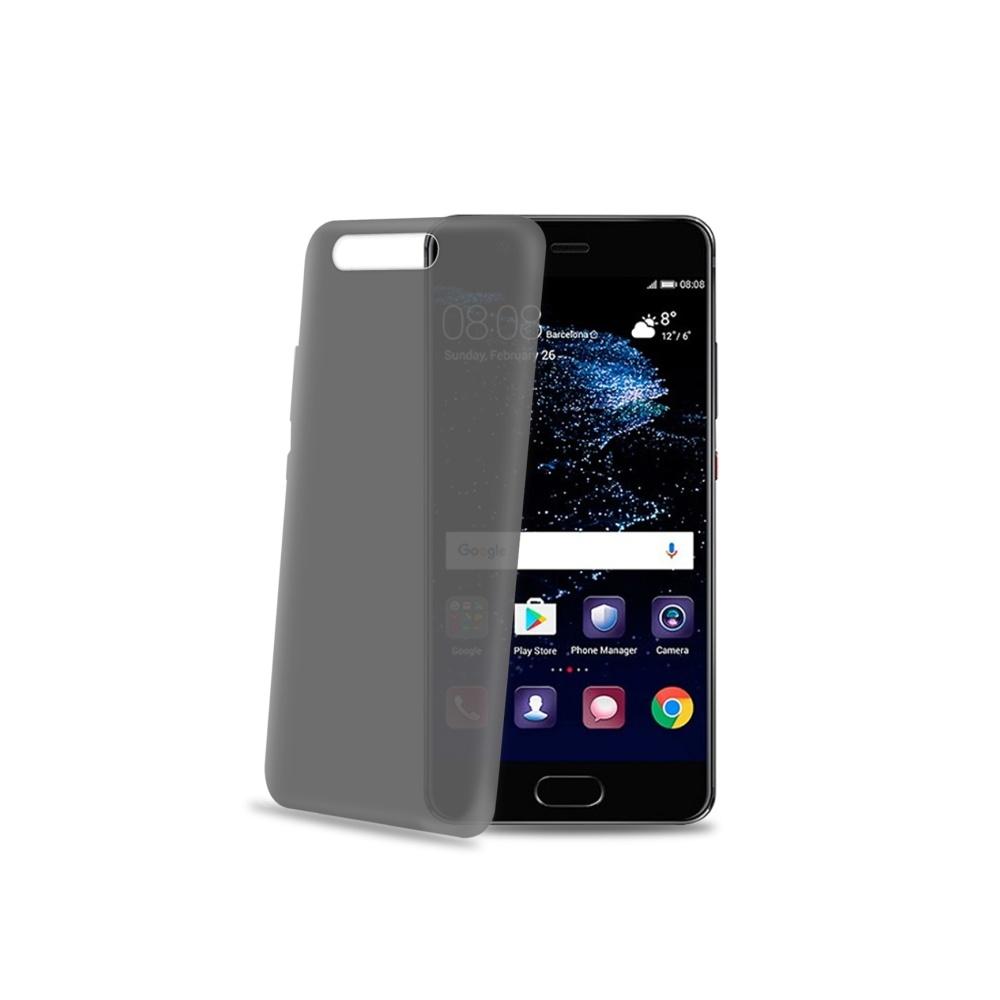 Ultra tenké TPU pouzdro CELLY Frost pro Huawei P10, 0,29 mm, černé