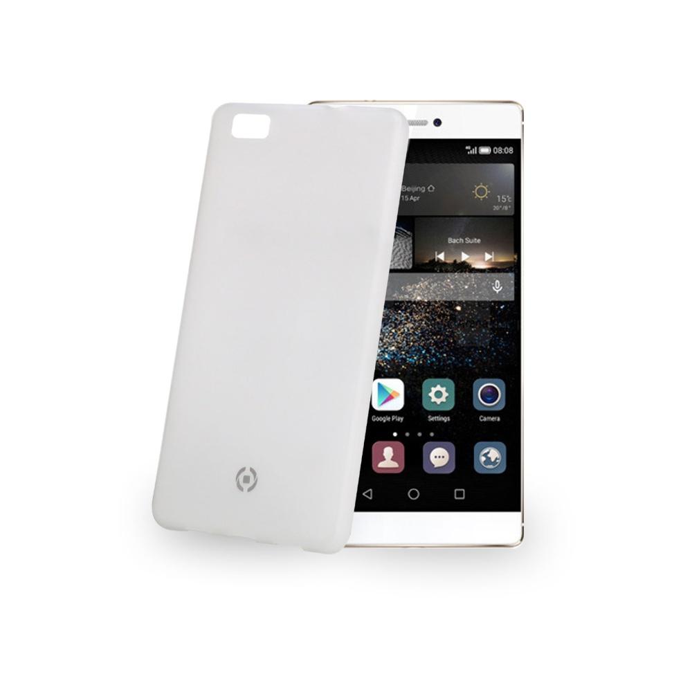 Ultra tenké TPU pouzdro CELLY Frost pro Huawei P8 Lite, 0,29 mm, bílé