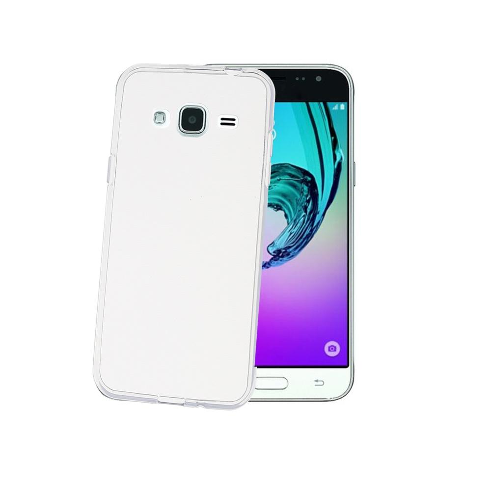 TPU pouzdro CELLY Gelskin pro Samsung Galaxy J3 (2016), bezbarvé