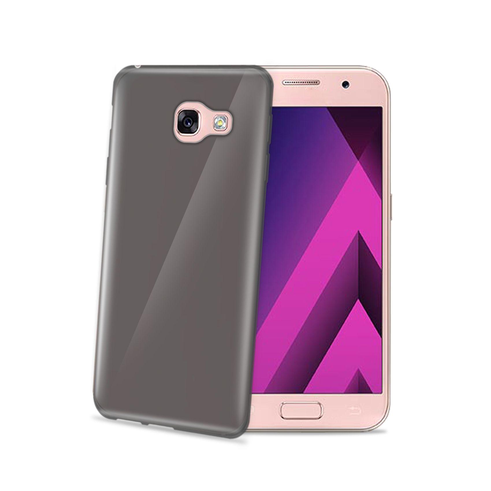 TPU pouzdro CELLY Gelskin pro Samsung Galaxy A3 (2017), černé