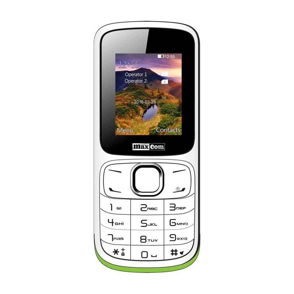 Mobilní telefon Maxcom MM129, DualSIM, bílý
