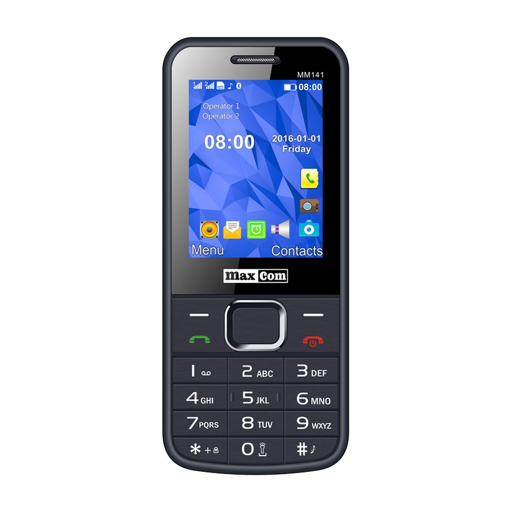 Mobilní telefon Maxcom MM141, DualSIM, šedý