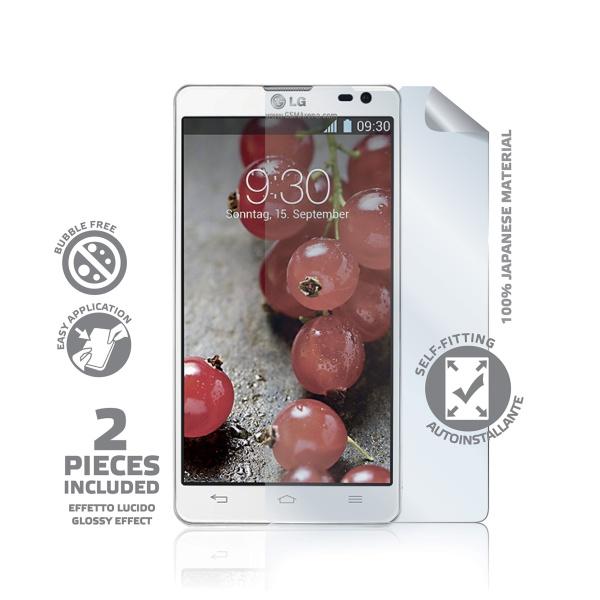 Prémiová ochranná fólie displeje CELLY pro LG Optimus L9 II, lesklá, 2ks,rozbaleno