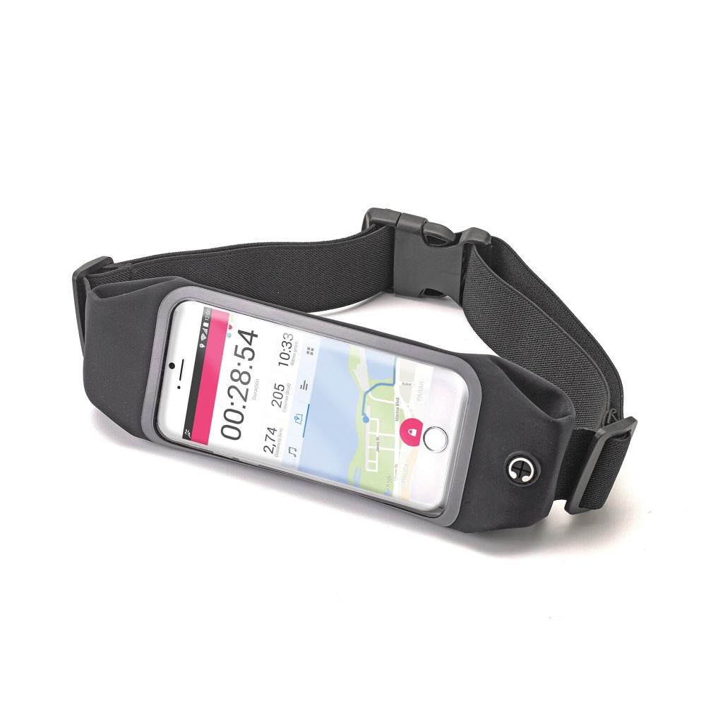 """Sportovní neoprénové pouzdro CELLY RunBelt View, pro telefony do 5.5"""", černé"""