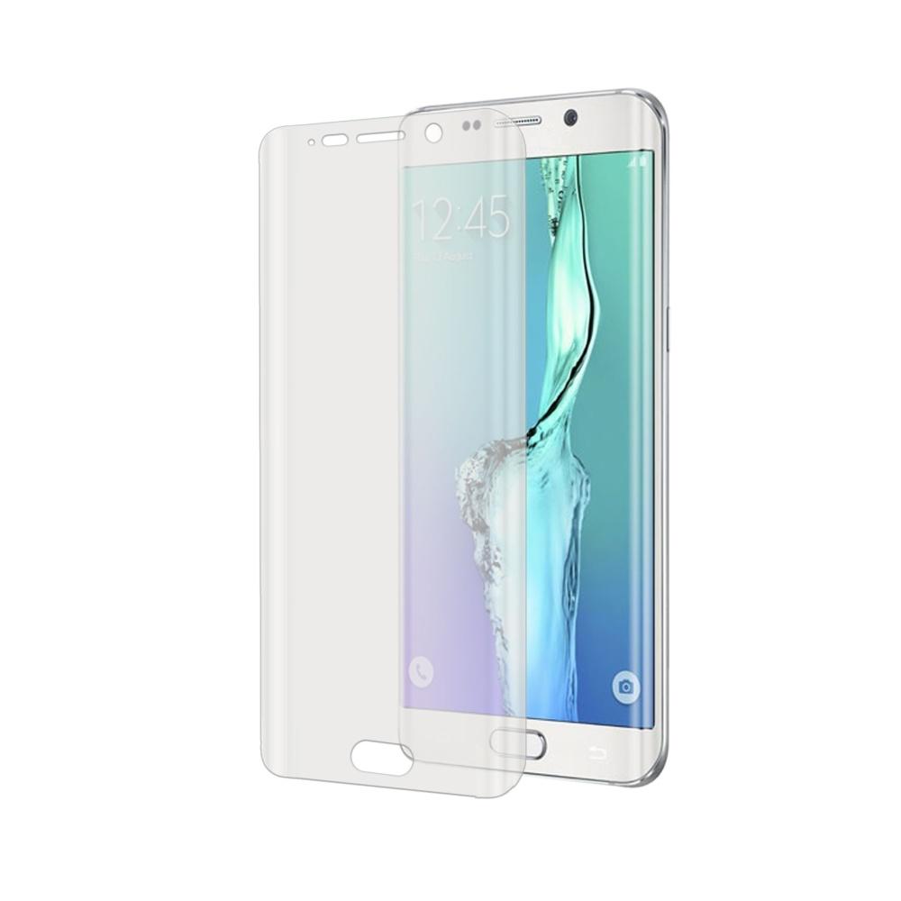 Prémiová ochranná fólie displeje CELLY Perfetto pro Samsung Galaxy S6 Edge, do krajů displeje, lesklá