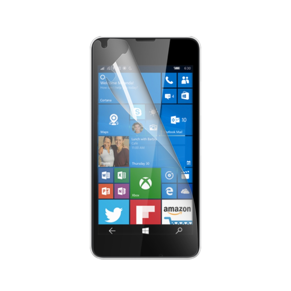 Prémiová ochranná fólie displeje CELLY Perfetto pro Microsoft Lumia 550, lesklá, 2ks