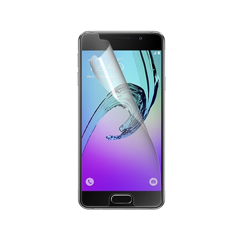 Prémiová ochranná fólie displeje CELLY Perfetto pro Samsung Galaxy A3 (2016), lesklá, 2ks