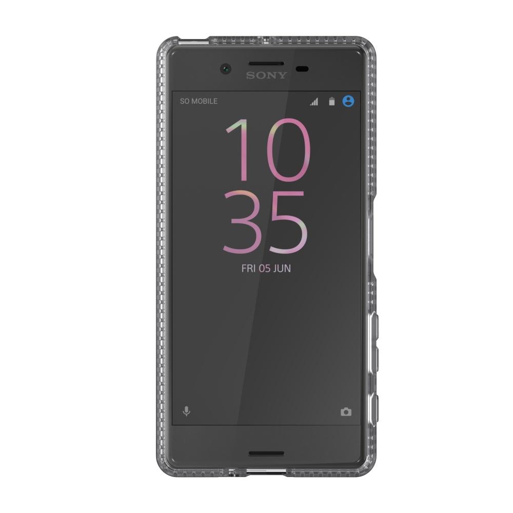 Zadní ochranný kryt Tech21 Impact Clear pro Sony Xperia X, čirý