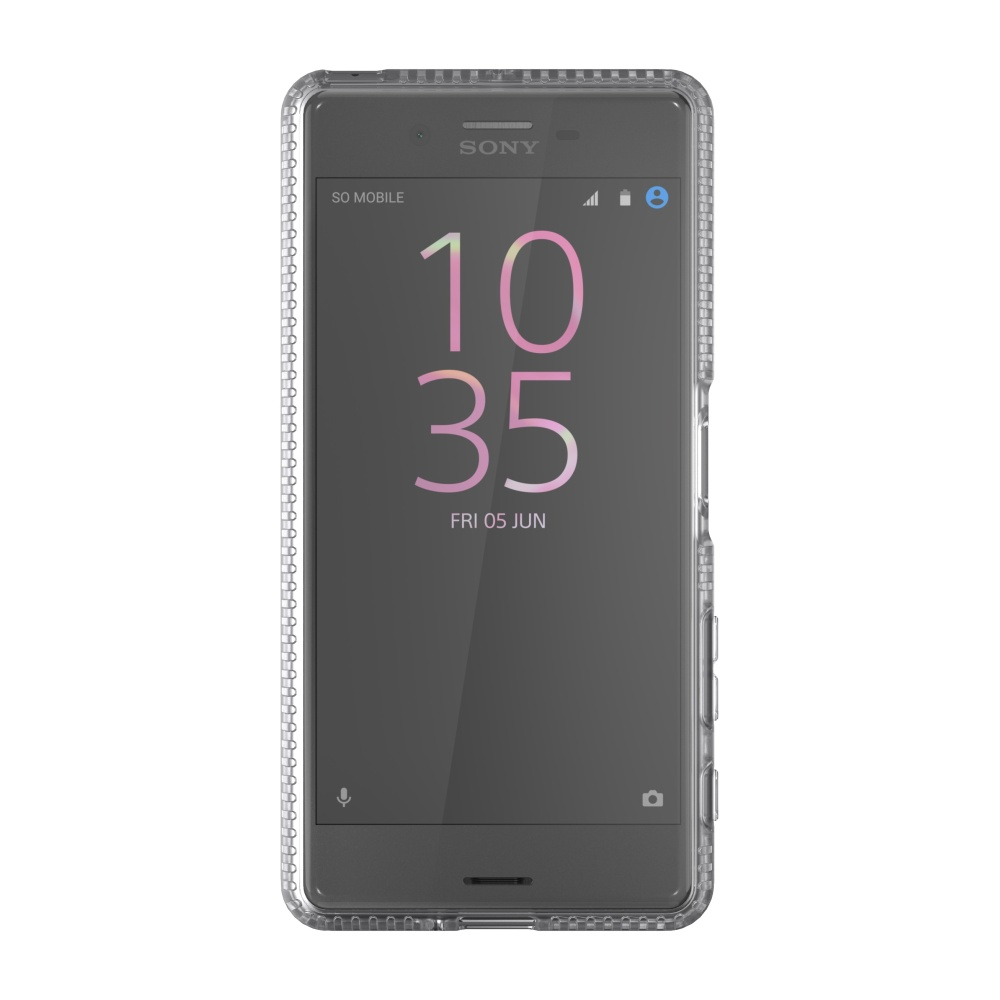 Zadní ochranný kryt Tech21 Impact Clear pro Sony Xperia X Performance, čirý