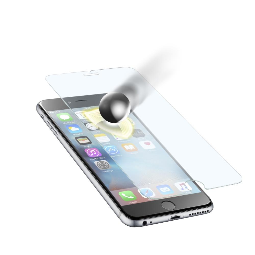Prémiové ochranné tvrzené sklo Cellularline TETRA FORCE GLASS pro Apple iPhone 6S Plus