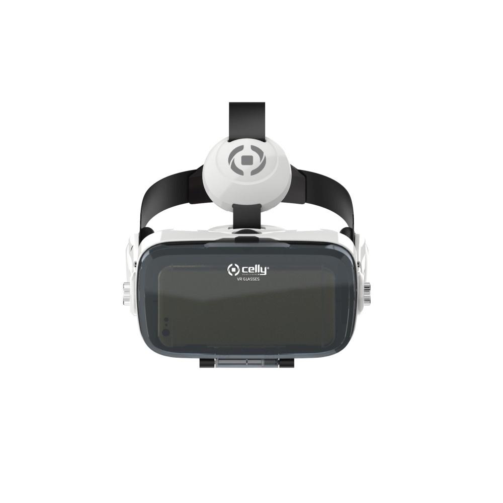 911b3f94e 3D okuliare pre virtuálnu realitu CELLY so slúchadlami a ovládacími  prvkami, pre smartphony 4,7 ''-6,2 ''