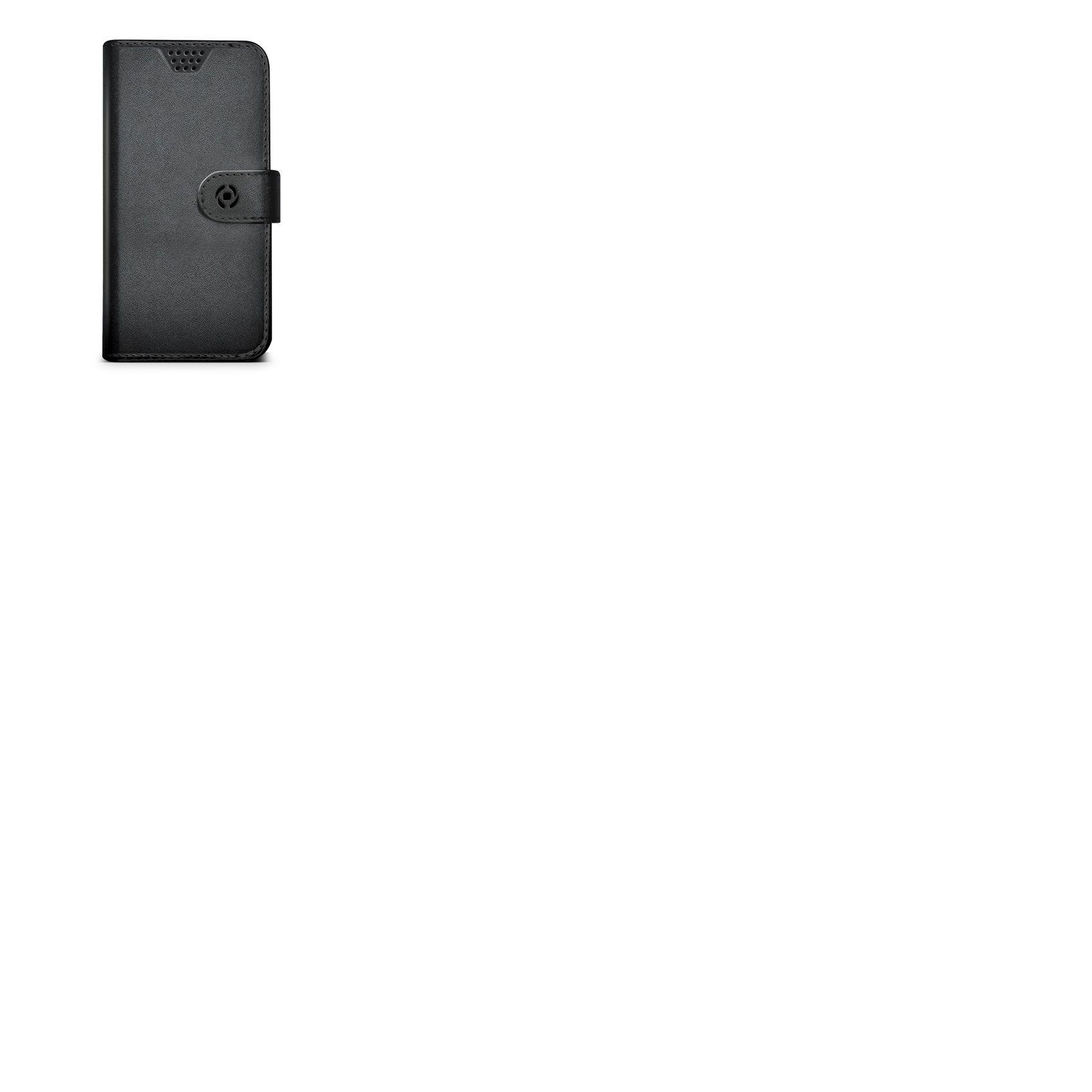 "Pouzdro typu kniha CELLY Wally Unica, velikost XXL, 5"" - 5.7"", černé"