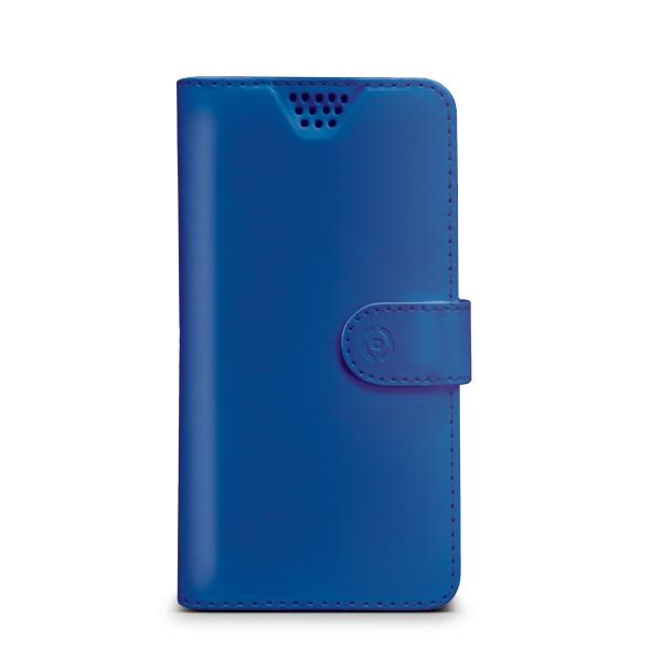 """Pouzdro typu kniha CELLY Wally Unica, velikost XXL, 5"""" - 5.7"""", modré"""
